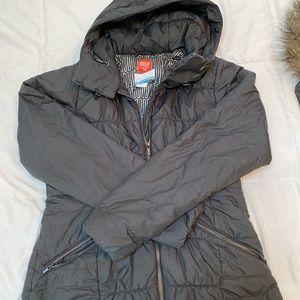 Columbia Fur-Trim Hood Thermal Coil Puffer Jacket